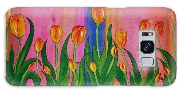 Wild Tulips Galaxy Case