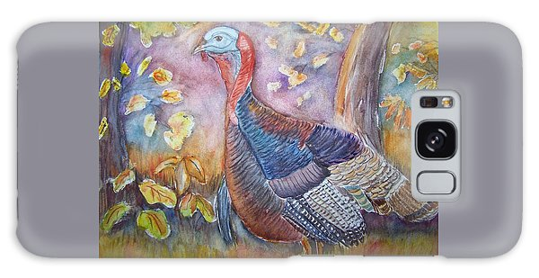 Wild Turkey In The Brush Galaxy Case