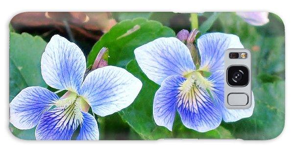 Wild Violets Galaxy Case