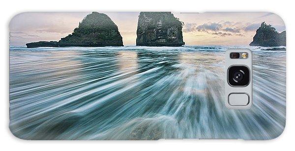 Tides Galaxy Case - Wild West Coast by Yan Zhang
