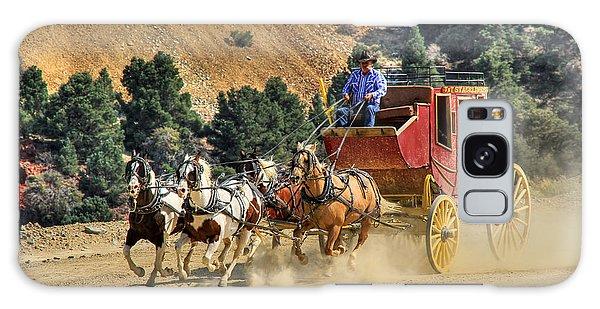 Wild West Ride 2 Galaxy Case by Donna Kennedy