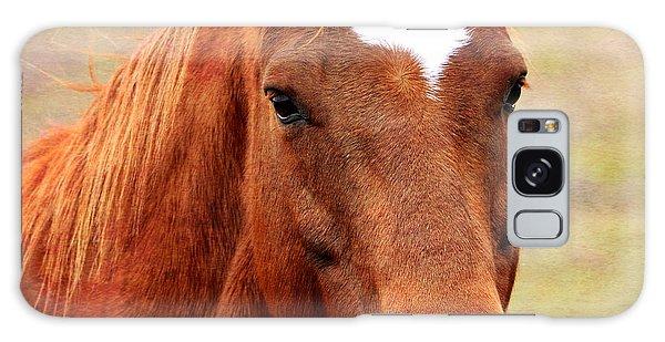 Wildfire - Equine Portrait Galaxy Case