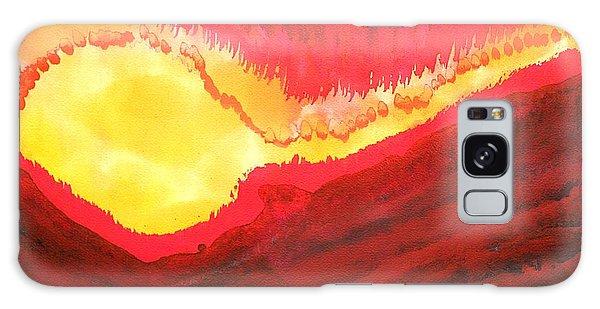 Wildfire Original Painting Galaxy Case