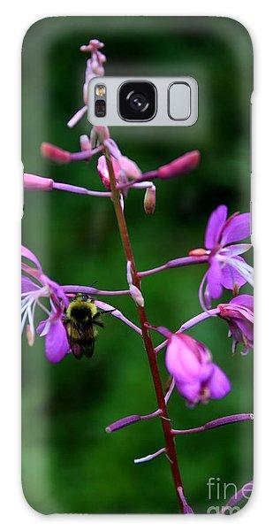 Wildflower Bee Galaxy Case by Amanda Holmes Tzafrir