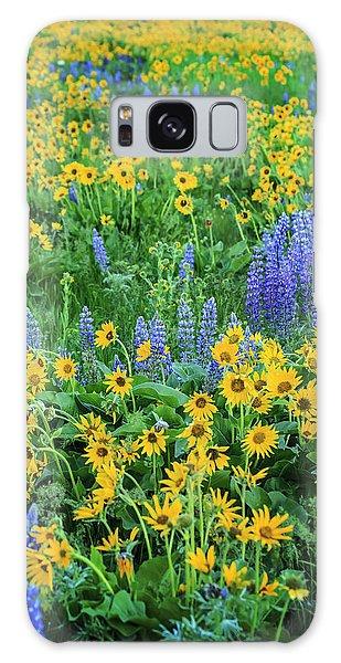 Wildflower Bounty Galaxy Case