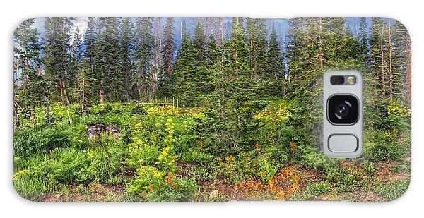 Wildflower Cascade Galaxy Case