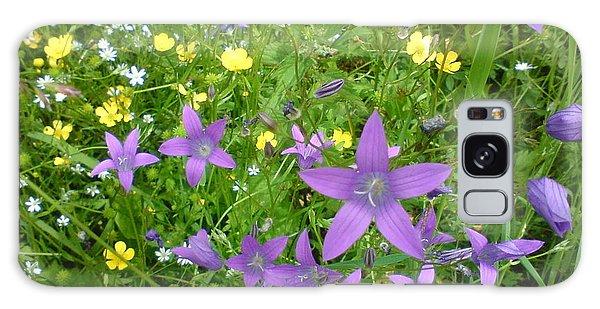 Wildflower Garden Galaxy Case by Martin Howard