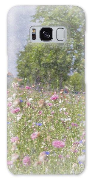 Wildflower Impressionism Galaxy Case