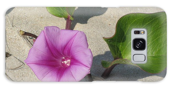 Wildflower On The Beach Galaxy Case