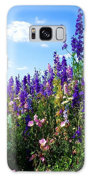 Wildflowers #9 Galaxy Case