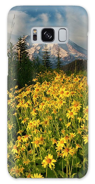 Ecosystem Galaxy Case - Wildflowers And Mt by Art Wolfe