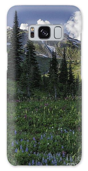 Wildflowers At Rainier Galaxy Case