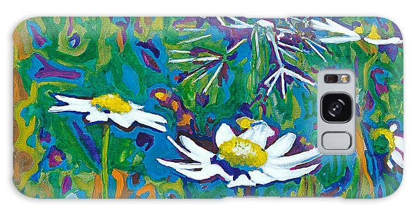 Wildflowers Galaxy Case by Denise Deiloh