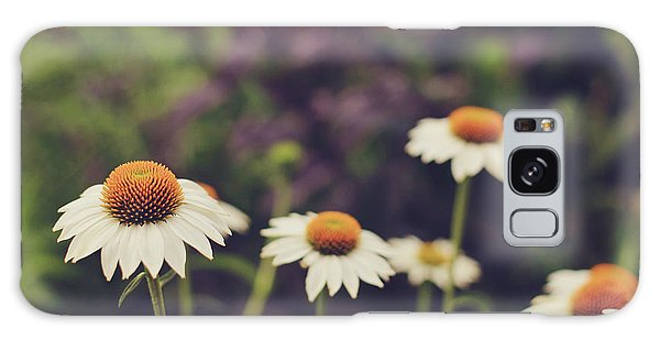 Wildflowers Galaxy Case by Heather Green