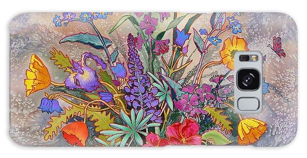 Wildflowers Of Alaska II Galaxy Case