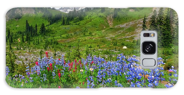 Ecosystem Galaxy Case - Wildflowers On Meadows by Tom Norring
