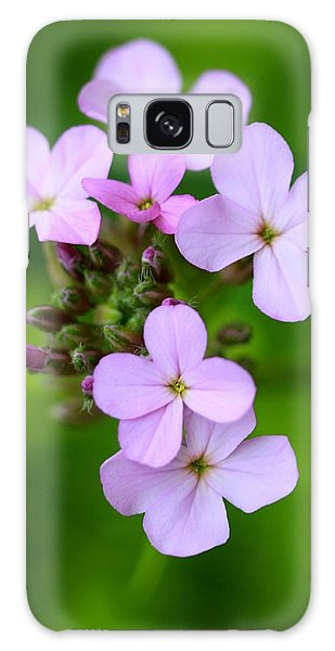 Wildflowers Galaxy Case by Tracy Male