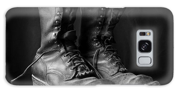 Wildland Fire Boots Still Life Galaxy Case by Kerri Mortenson