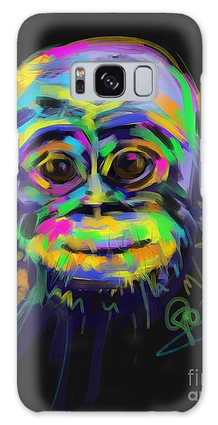 Wildlife Baby Chimp Galaxy Case