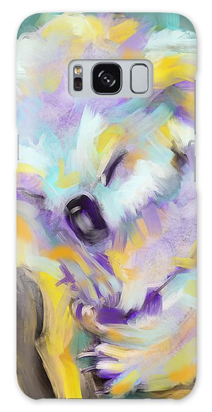 Wildlife Cuddle Koala Galaxy Case