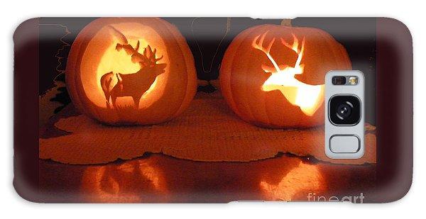 Wildlife Halloween Pumpkin Carving Galaxy Case