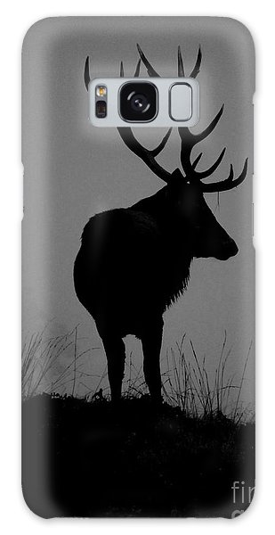 Wildlife Monarch Of The Park Galaxy Case by Linsey Williams