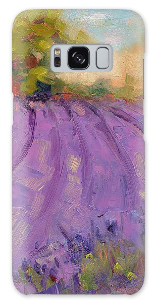 Wildrain Lavender Farm Galaxy Case