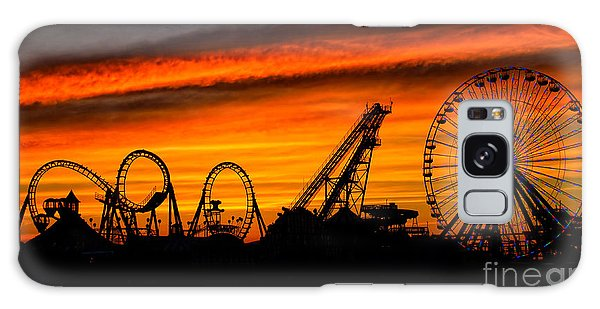 Wildwood At Dawn Galaxy Case
