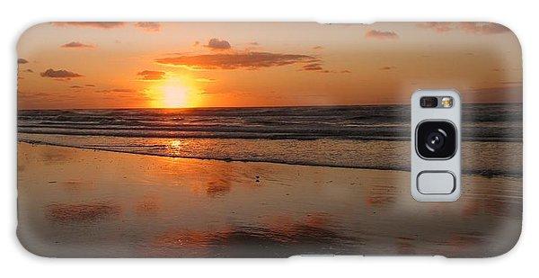 Wildwood Beach Sunrise Galaxy Case by David Dehner