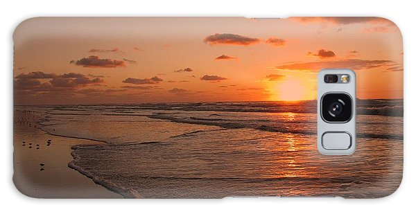 Wildwood Beach Sunrise II Galaxy Case
