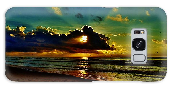 Wildwood Sunrise Galaxy Case by Ed Sweeney