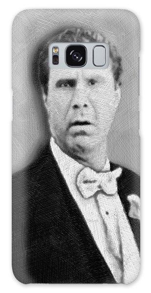 Will Ferrell Old School  Galaxy Case by Tony Rubino