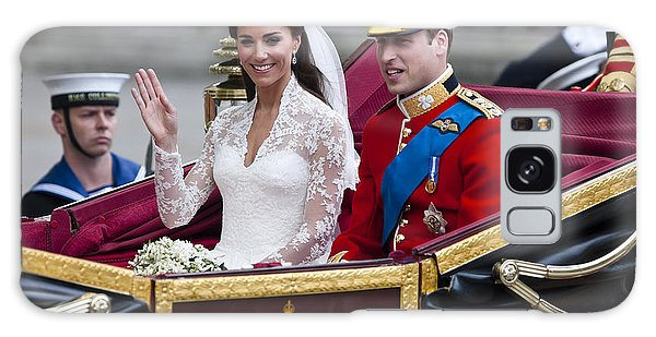 William And Kate Royal Wedding Galaxy Case