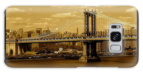 Williamsburg Bridge New York City Galaxy Case