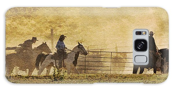 Williamson Valley Roundup 4 Galaxy Case by Priscilla Burgers