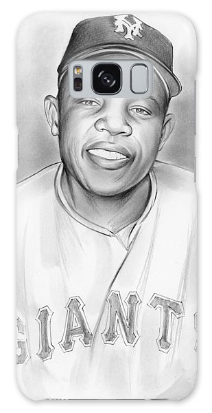 Willie Mays Galaxy Case by Greg Joens
