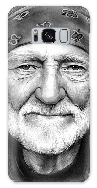 Willie Nelson Galaxy Case by Greg Joens