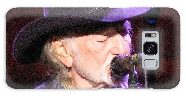 Willie Nelson Galaxy Case by Melinda Saminski