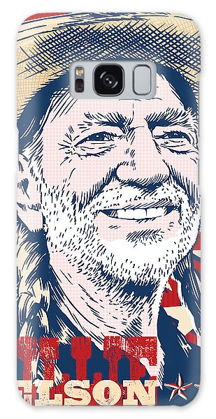 Willie Nelson Pop Art Galaxy Case