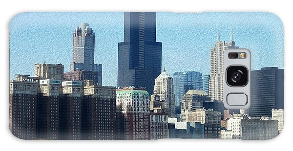 Willis Tower Galaxy Case by Kathie Chicoine