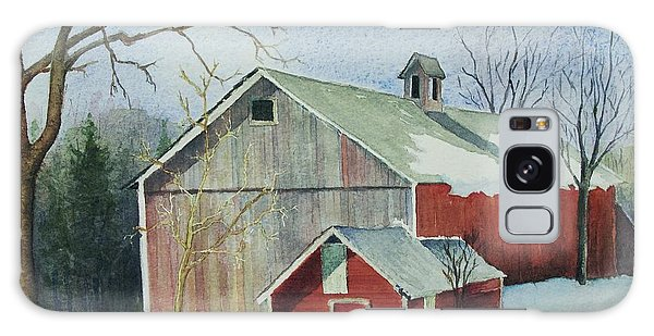 Williston Barn Galaxy Case by Mary Ellen Mueller Legault