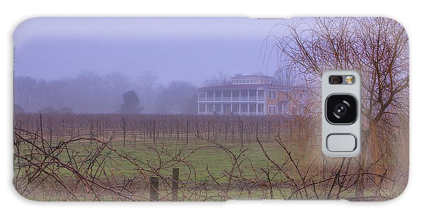 Willow Creek In Fog Galaxy Case