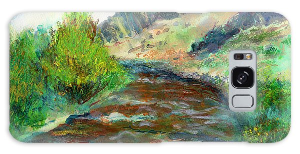 Willow Creek In Spring Galaxy Case