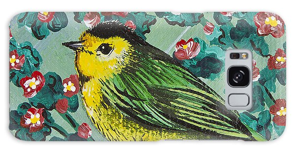 Wilson's Warbler Mini Galaxy Case
