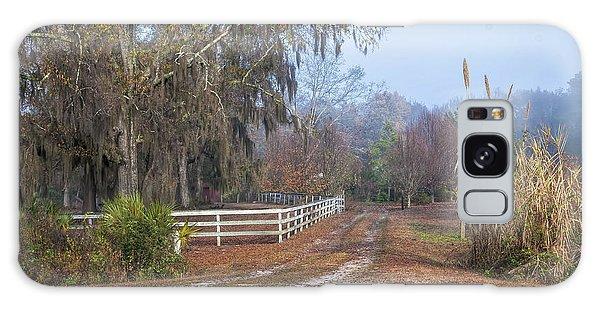 Wimbee Fence Line Galaxy Case
