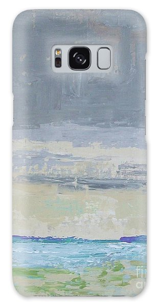 Wind And Rain On The Bay Galaxy Case by Gail Kent
