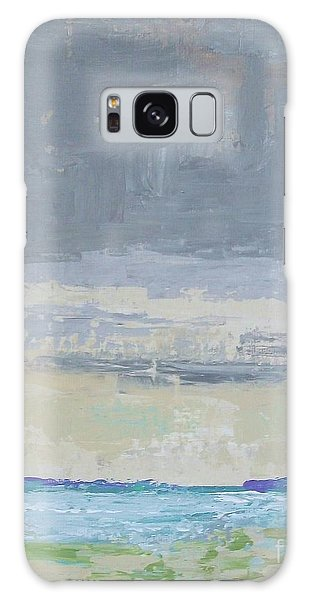 Wind And Rain On The Bay Galaxy Case