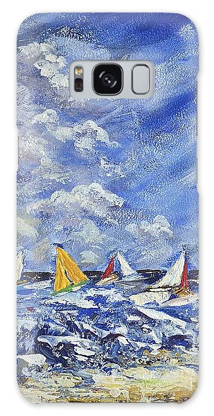 Wind And Sails Galaxy Case
