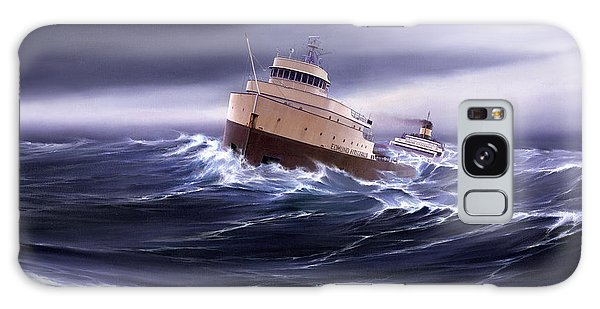 Great Lakes Galaxy Case - Wind And Sea Astern by Captain Bud Robinson