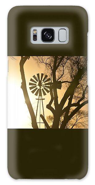 Spinning In The Sundown Galaxy Case by Clarice  Lakota